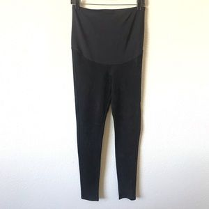 H&M mama maternity faux suede leggings